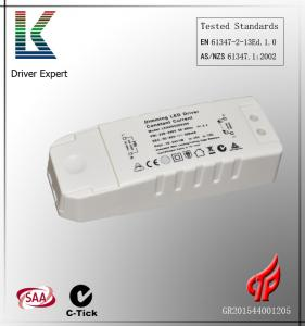 China Low cost 35v 200ma external dimmable Led light driver with SAA C-tick on sale