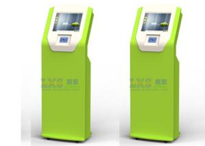 China Free Standing Card Payment Self Ordering Kiosk , Foreign Currency Exchange Kiosk on sale