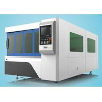 1500W Fiber Laser Cutting Machine Single Table With Protection Cover