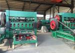 Multiple Types Wire Mesh Making Machine , Green Hexagonal Wire Mesh Machine