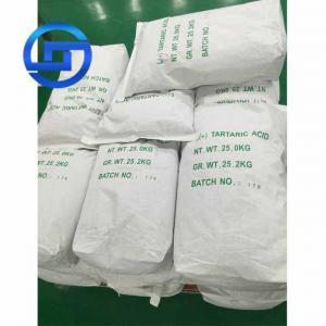 China Food grade Tartaric acid/L(+)- Tartaric acid / DL Tartaric acid on sale