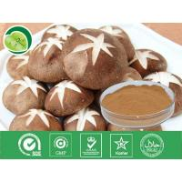 China 100% natural herbal type polysaccharide 10%-40% shiitake mushroom extract -Lentinula edode on sale