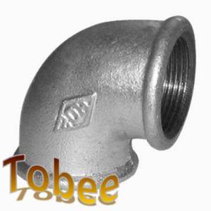 China gi malleable iron pipe fittings reducer 90 degree elbow on sale