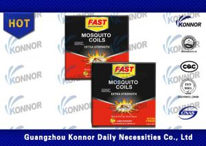 China Cypermethrin Chemical Mosquito Coil , Fast Mosquito Coils Indoor Use on sale