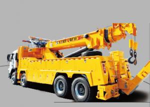 China Durable 200KN Emergency Rescue Wrecker Tow Truck , 15 Ton Breakdown Recovery Truck on sale
