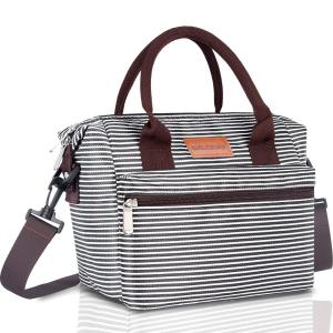 China Fashion Insulated Food Cooler Bags For Women Water Resistant 9.7Lx1.2Wx6.2H Inch on sale