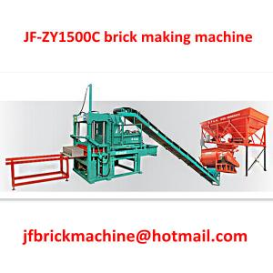 China Uganda Semi-Automatic brick making plant, brick making machine for sale on sale