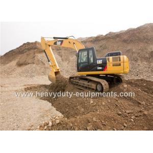 China Caterpillar excavator equipped with mechanical suspension seat in standard Cab on sale