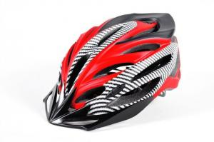 China Red Sports Bike Helmets Multicolor Shock Resistance Super Light High Stiffness on sale