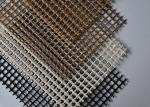 Food Grade Waterproof Teflon Mesh Conveyor Belt Fiberglass Mesh 0.2-1.35mm Thickness