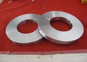 China Hastelloy C2000 Nickel Alloy Flanges Forging Ring Disc Sleeves Oil Rusted Surface on sale