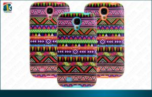 China Hybird combo Samsung Galaxy Protective Cases  Folk Style PC TP Printing for Galaxy S4 on sale
