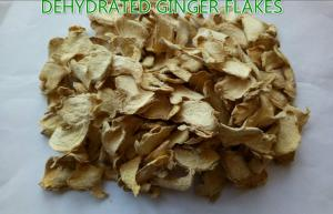 China Orgnic Dehydrated ginger flakes/slices, pure natural products on sale