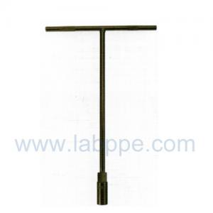 Quality T1206-Electrophoresis T wrench CRV T socket wrench/ T shaped spanner/ hex key for sale