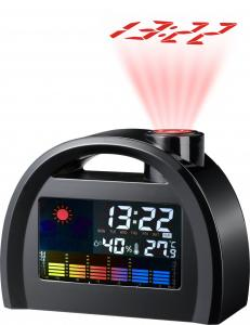 China BR-817B Weather Station Projection Clock on sale