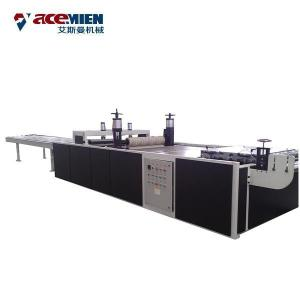 China 920mm 1130mm PVC Plastic Corrugated Sheet Machine , Glazed Roof Tile Machine on sale