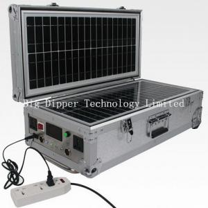 China 40W Portable Solar Power System with AC/DC Output on sale