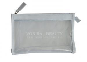China Waterproof Clear Transparent PVC Handbag Makeup Bag With Zipper on sale