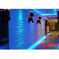China Hotel / Office Wall Art 3D Textured Wall Panels Washable Wall Decorative 3D Tiles on sale