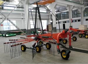 China Mateng F.HR Rotary Rake for 3 point hitch Tractor equipment. F.HR350-420 size for your choose on sale