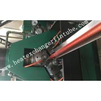 China Carbon Steel Extruded Fin Tube Machine , Fin Average Thickness  0.3mm on sale