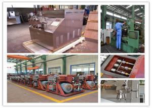 China Processing Ice cream Homogenizer machine small type hanle operating on sale