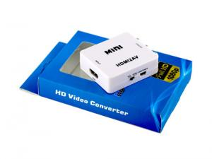 China Mini HDMI AV Converter adaptor 48i 576i For CCTV Camera , HD DVR on sale