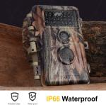 Wildlife Infrared Hunting Camera , Game Trail Camera Night Version 16MP HD 1920X1080P