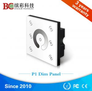 China Fashion design 4 channel wall mounted single color led touch dimmer on sale
