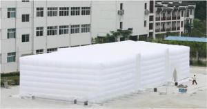 China White inflatable outdoor party tent for wedding event on sale