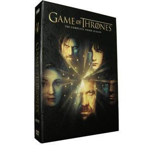 China Game of Thrones Season 3 DVD Boxset-Free Shipping on sale