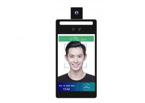 China Wall Mounted Face Recognition Attendance System 8 Android Temperature Detection Rakinda F2-H on sale
