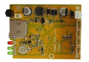 China CCTV PCB Board HD1080P SD Card Mini DVR Module for Mobile and Home Recording on sale