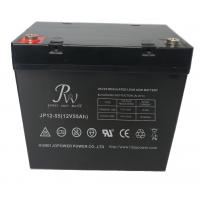 China Flame Retardant 12V Sealed Lead Acid Battery 55AH for UPS EPS Telecom on sale