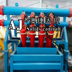 China Supply good price China Solids Control Drilling Hydrocyclone Desilter and Mud Recycling Desilter and Cyclone Desander on sale