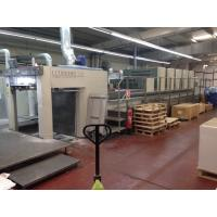 Komori  LS 540+CX-UV (2005)  Sheet fed offset printing press machine