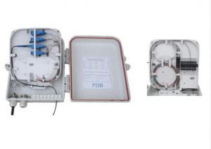China 1 x 16 Splitter Fiber Optic Termination Box SC UPC Connector For CATV Networks on sale