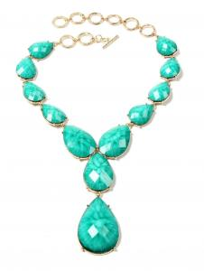 China 2014 new arriver resin necklace for girl on sale