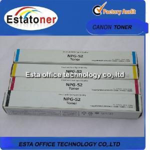 China Npg52 Color Laser Printer Toner For Canon Image Runner Advance C2020 / C2030 on sale