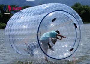 China Outdoor Inflatable Zorb Ball / Water Roller Ball For Kids , Earth Friendly on sale