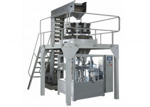 China 10 Heads Granule Food Packing Machine , Rotary Doypack Filling Machine on sale