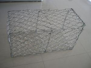 China Hot sale gabion basket /welded Gabion wire mesh / pvc coated gabion boxes to thailand on sale