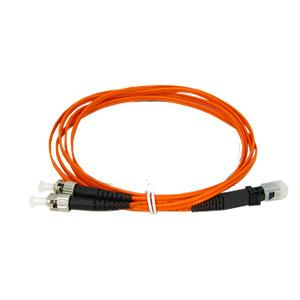 China Orange Sc Lc Fiber Patch Cord / Optical Patch Cable OFNP Material 2.0mm on sale