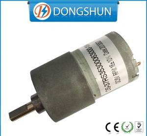 China DS-37RS3530 offset shaft low rpm 12v dc gear motor on sale