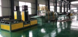China 1300X400mm Automatic Corrugated Sheet Making Machine Transformer Oil Tank Producing on sale