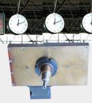 el ferrocarril registra diámetros de los tamaños del movimiento el 1.2m