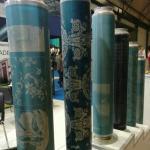 tela de impressão giratória do papel de parede 155M padrão de 165M para o sobressalente da maquinaria de matéria têxtil