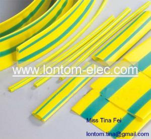 China Yellow Green Heat Shrink Tubing on sale