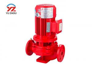 China Vertical Motor Driven Water Pump , Single Stage Centrifugal Pump Inline 3 Inch on sale