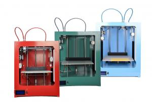 China Full Color Dual Extruder Craft Model ABS 3DPrinter with Big Bulid Size 280*210*340 mm on sale